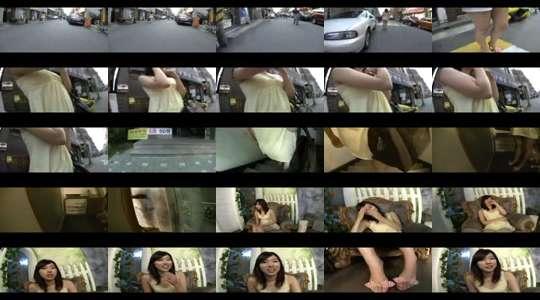 Aziatische Porn betasten