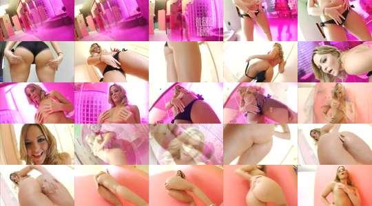Wunderschöner blonder Teenie-Sex