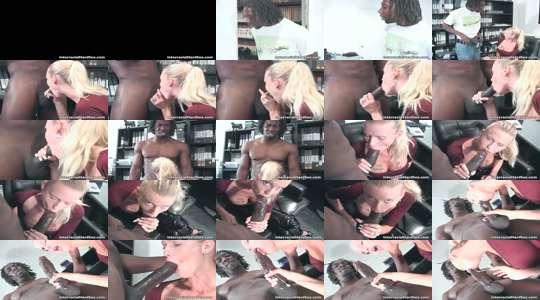 zwart kantoor Porn gelukkige Pussy Porn
