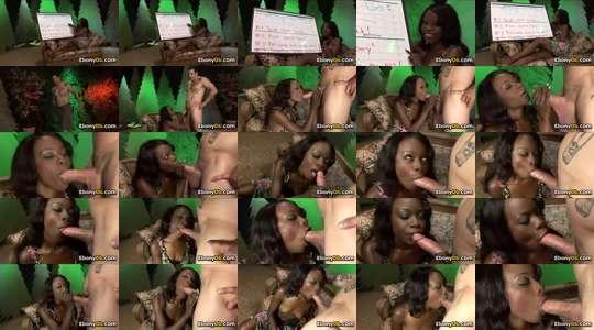 zwangere Ebony Lesbian