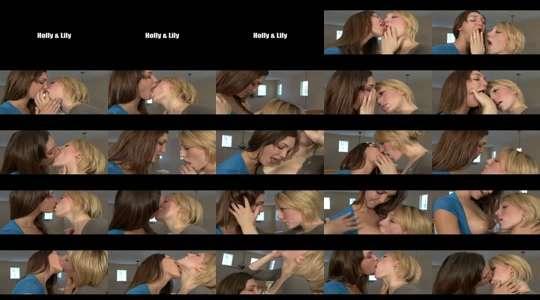 lesbische hardcore kus hete lesbische sex party