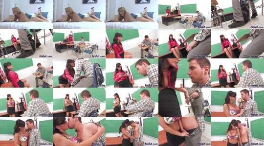 leraar en studenten Porn