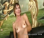 Lillian Tesh older woman rough sex fun