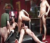 German bondage group sex