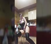 Die Frau in der Bar