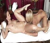 Een goede lesbische massage