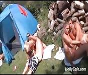 Campen und ficken