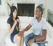 Huge Japanese Cock - Big black cock in Japanese ass - BUBBAPORN.COM