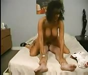 Milf Latina thrills