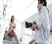 Fotosession und Sex