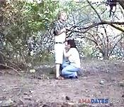 Der Fick im Busch