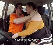 Curvy Hoe Screws Driving Instructor