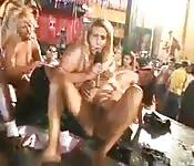 Travesuras sexuales de brasileñas extravagantes