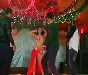 Dançarina vadia em casamento