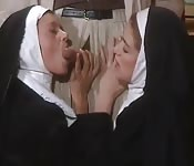 Total perversion with nuns