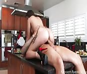 Jynx Maze has cum and cookies for breakfast
