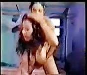 Un video di sesso vecchia scuola in VHS