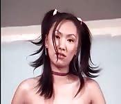 Onschuldige Aziatische meisjes