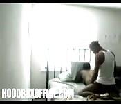 Espiões filmam casal atrevidos em um hotel