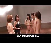 Orgia asiática muito sexy