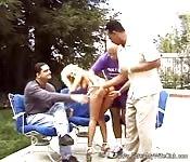 Gruppenfick im Park