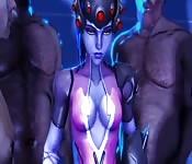 Animación erótica en 3D