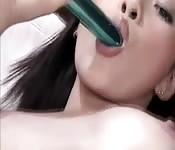 Sexy Asian self service