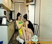 Geile Mädels in der Küche