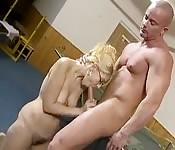 Sexo tabú na academia
