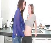 Lesbian breakfast