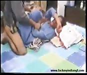 Du porno indien devant la caméra