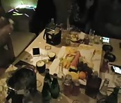 Asian homemade sex party