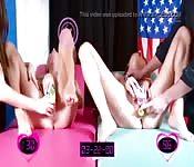 Girls entscheiden Boxduell mit Fotzenstimulation