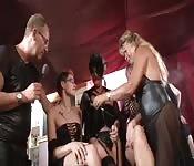 Aufregendes deutsches Sextreffen