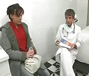 Doctor fucks brunette patient
