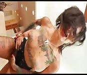 A Bonnie Rotten le encanta por el culo
