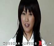 Mulher asiática quer um papel em um filme