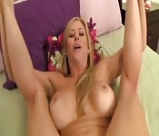 POV fuck from your girl's MILF mom