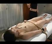Teen bondage massage
