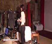 Casting erótico com uma dona de casa checa