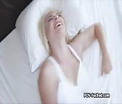 Big tit gf POV fucked on leaked tape
