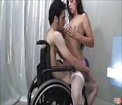 Seks in een rolstoel in het ziekenhuis