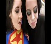 A cosplay fuck between girls.