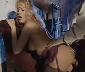 Heiße klassische Pornoszene