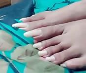 Foot fetish freak