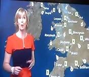 Britische MILF-Wetterfee