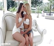 Lesbiche sexy e passionali