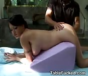 Jenna Presley Fucked On Massage Table