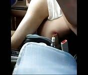Koreanischer Fick im Auto