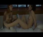 Spanish lesbos having fun